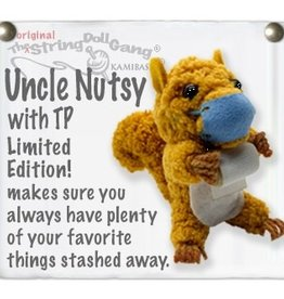 Kamibashi Uncle Nutsy TP String Doll Keychain