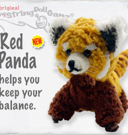 Kamibashi Red Panda String Doll Keychain