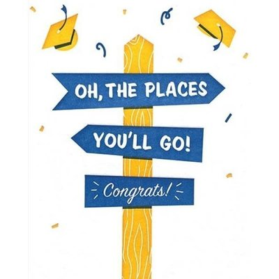 Good Paper Oh, the Places You'll Go! Graduation Card