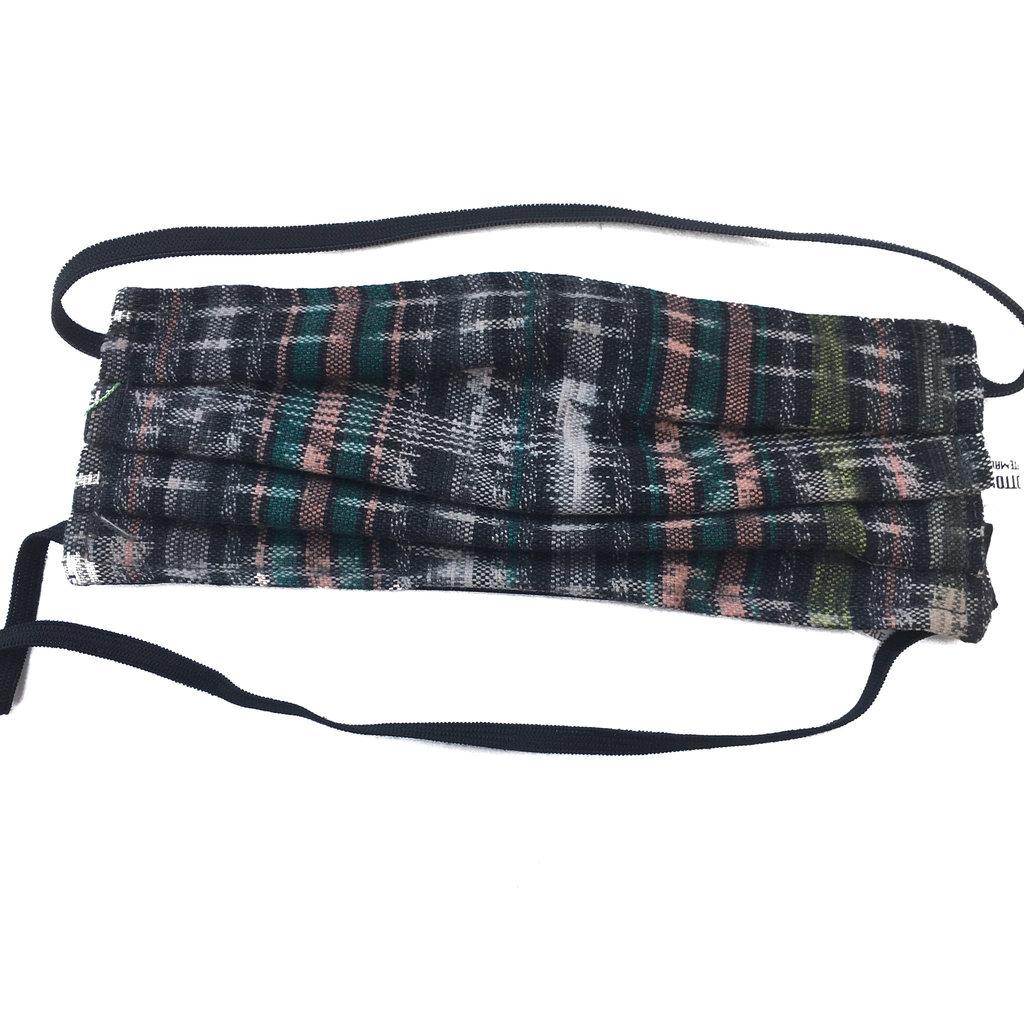 Unique Batik Corte Pleated Face Mask