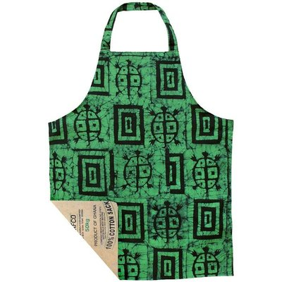 Global Mamas Reversible Box Turtles Apron