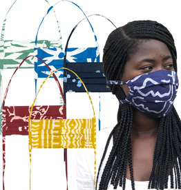 Global Mamas Organic 2-Ply Batik Adult Face Mask