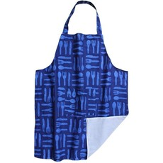 Global Mamas Reversible Silverware Blue Apron