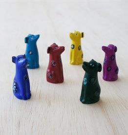 Venture Imports Tiny Soapstone Animal Dog