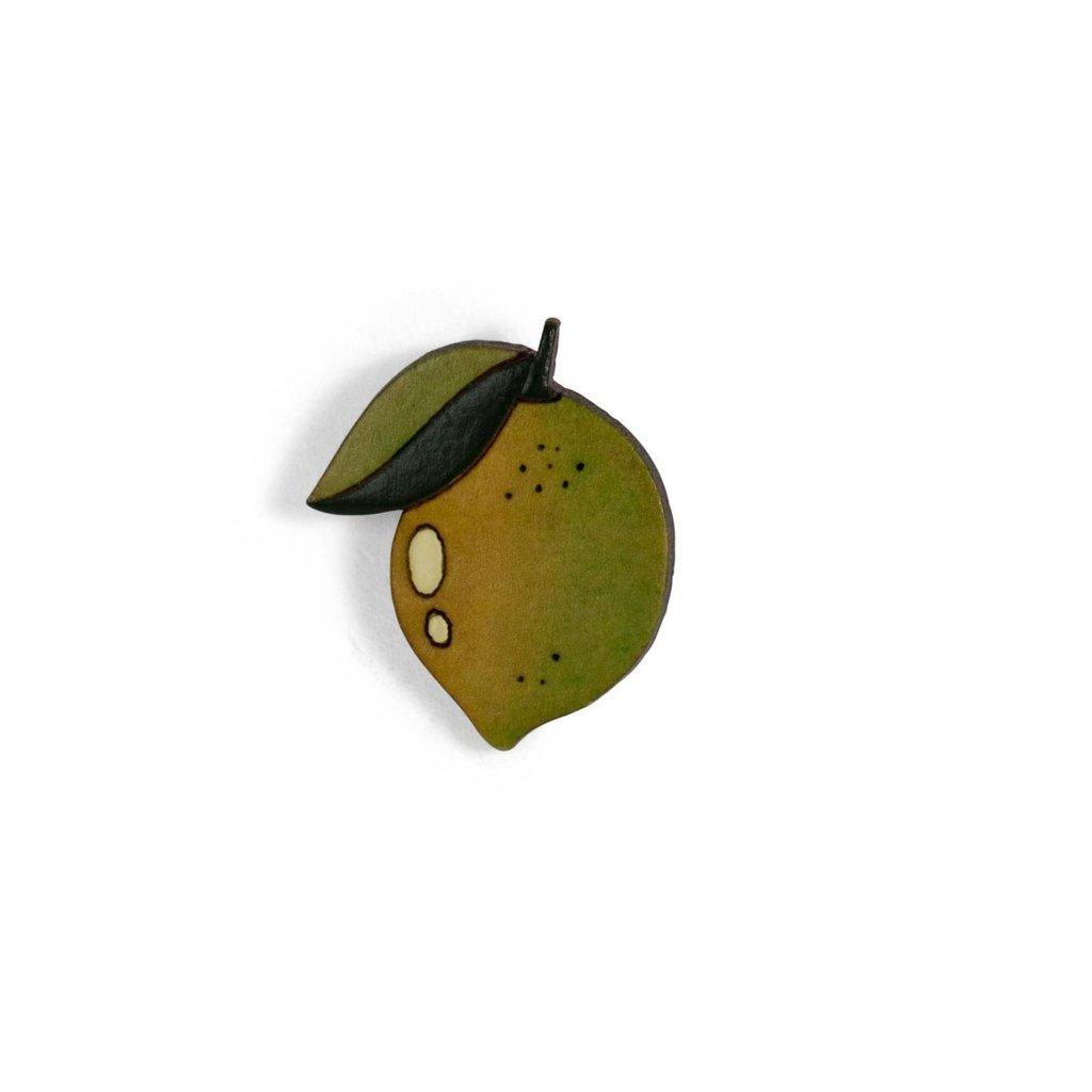 Ten Thousand Villages Lemon Gourd Pin