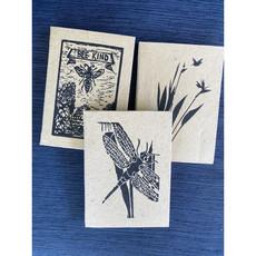 Creation Hive Bird of Paradise Block Print Journal