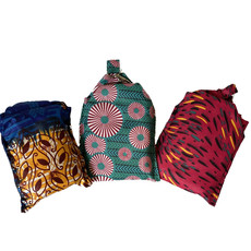 Creation Hive Kitenge Collapsible Shopping Tote