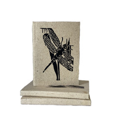 Creation Hive Dragonfly Block Print Journal