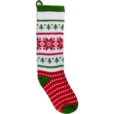 Andes Gifts Christmas Stocking: Green