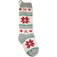 Andes Gifts Christmas Stocking: Snowflake