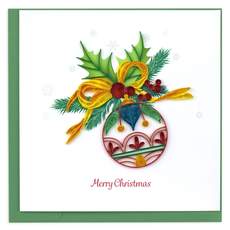 Quilling Card Christmas Ornament Quilling Card