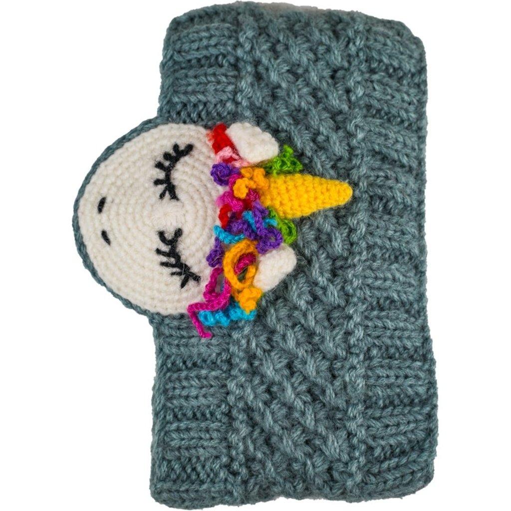 Andes Gifts Animal Earwarmers: Unicorn