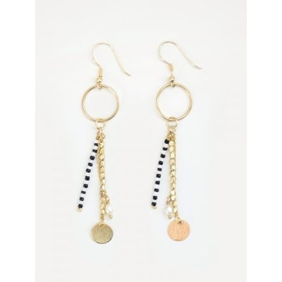 Mata Traders King Cobra Gold Earrings