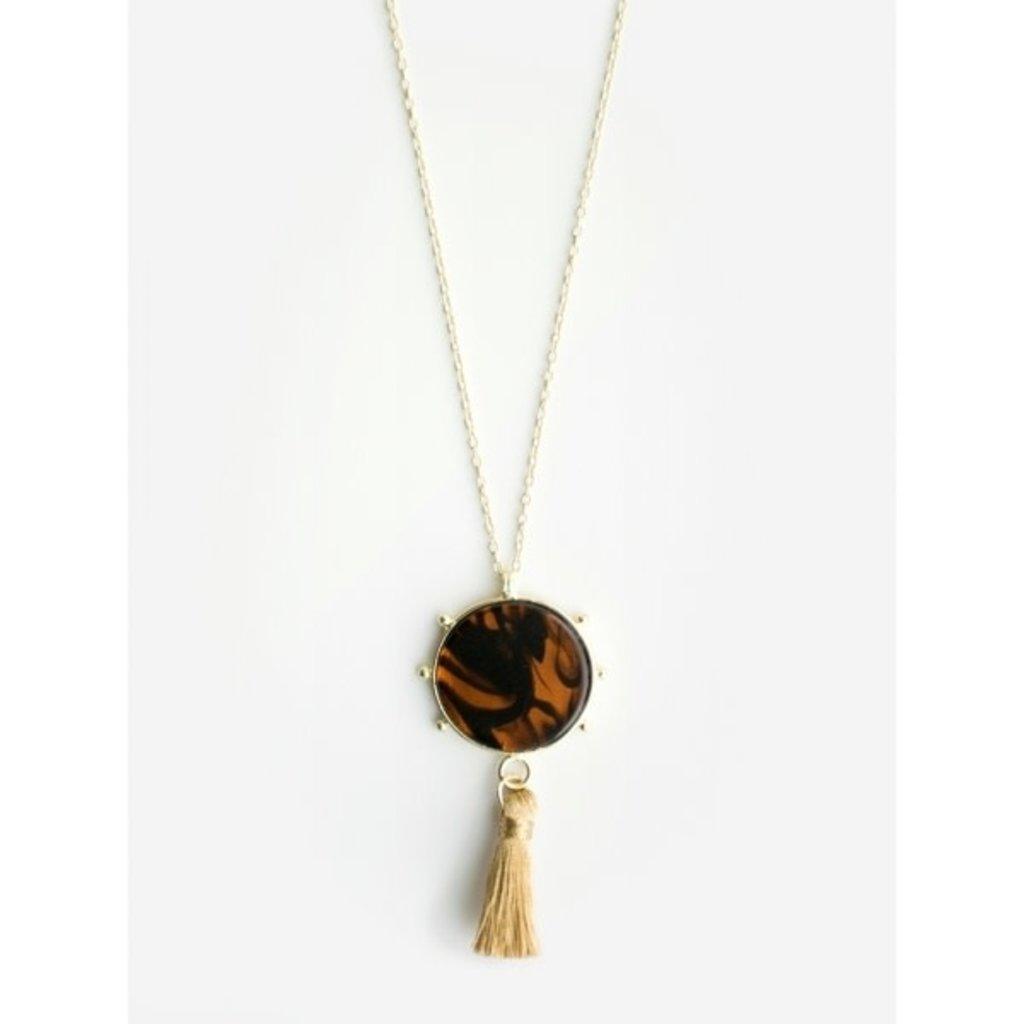 Mata Traders Gleam Tortoiseshell Necklace