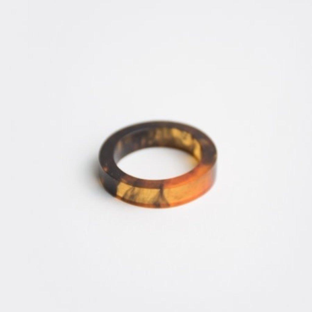 Mata Traders Avni Tortoiseshell Ring