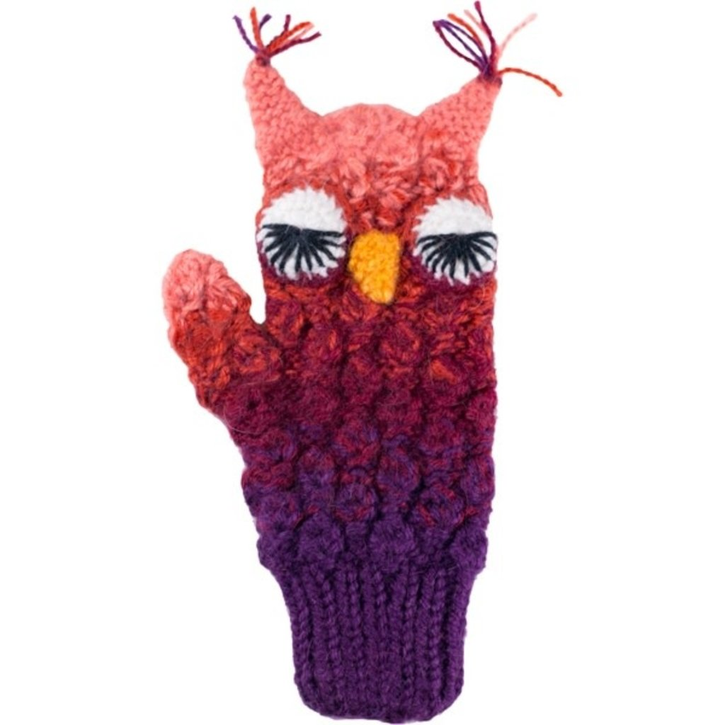 Andes Gifts Kids Animal Mitten