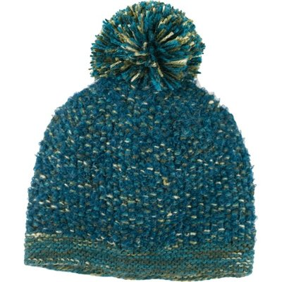 Andes Gifts Lima Blended Knit Hat: Aqua