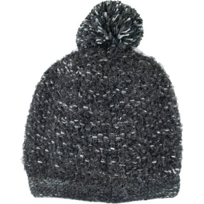 Andes Gifts Lima Blended Knit Hat: Black