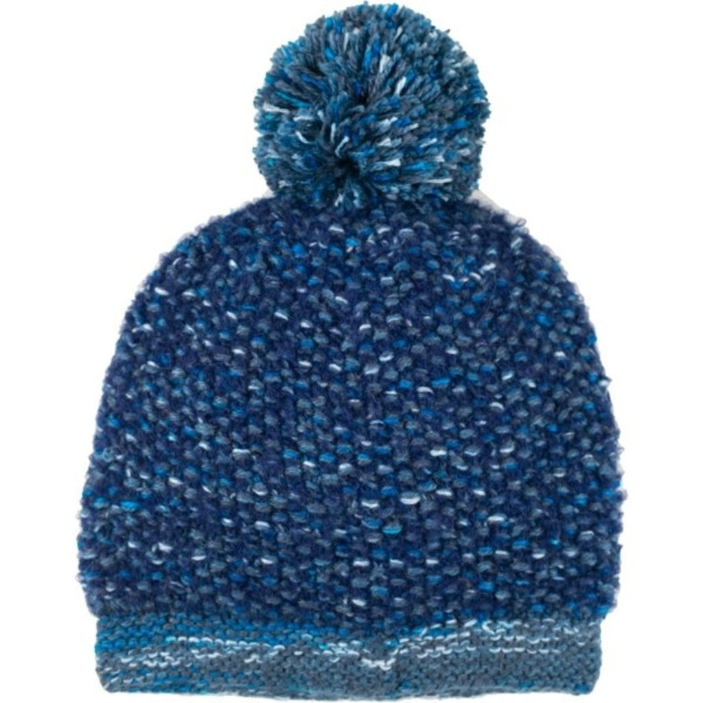 Andes Gifts Lima Blended Knit Hat: Blue