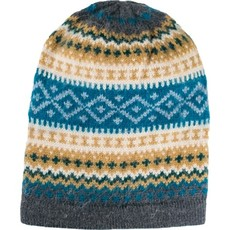 Andes Gifts Sierra Knit Hat: Aqua