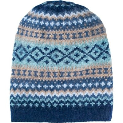 Andes Gifts Sierra Knit Hat: Navy