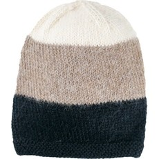 Andes Gifts Tres Alpaca Knit Hat: Ash