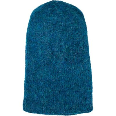 Andes Gifts Milkshake Alpaca Knit Hat: Aqua