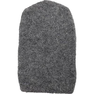 Andes Gifts Milkshake Alpaca Knit Hat: Grey