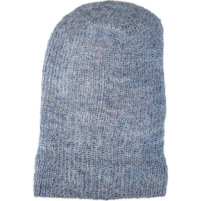 Andes Gifts Milkshake Alpaca Knit Hat: Powder Blue