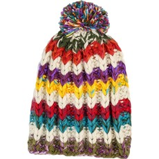 Andes Gifts Altiplano Knit Hat: Sunset