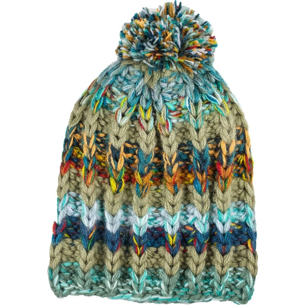 Andes Gifts Altiplano Knit Hat: Teal