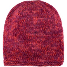 Andes Gifts Blended Knit Hat: Berry
