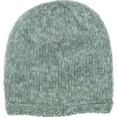 Andes Gifts Blended Knit Hat: Powder Blue