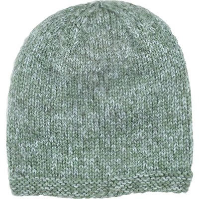 Andes Gifts Blended Knit Hat: Powder Blue