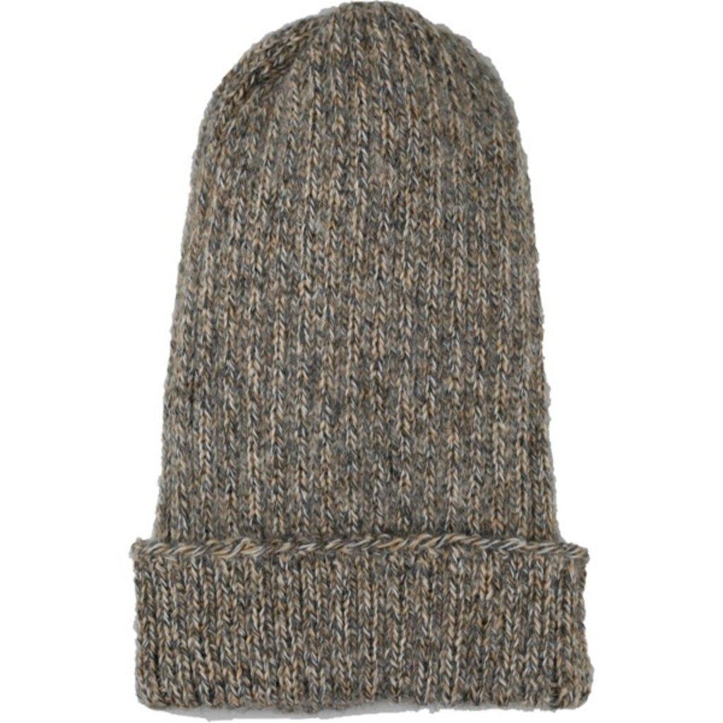 Andes Gifts Pez Blended Knit Hat: Ash