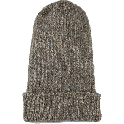 Andes Gifts Pez Blended Knit Hat: Ash
