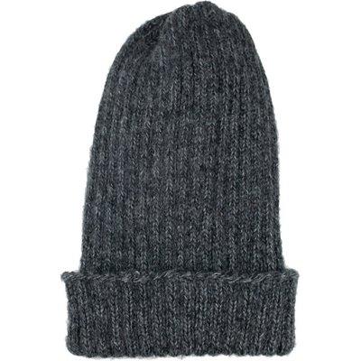 Andes Gifts Pez Blended Knit Hat: Black