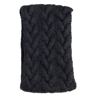 Andes Gifts Cable Knit Ear Warmer: Black