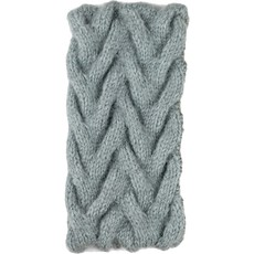 Andes Gifts Cable Knit Ear Warmer: Blue