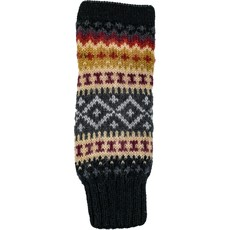 Andes Gifts Sierra Knit Arm Warmers: Black