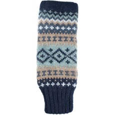 Andes Gifts Sierra Knit Arm Warmers: Navy