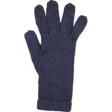 Andes Gifts Milkshake Alpaca Gloves: Black