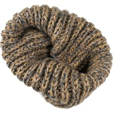 Andes Gifts Blended Knit Neck Warmer: Ash