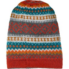 Andes Gifts Sierra Knit Hat: Cherry