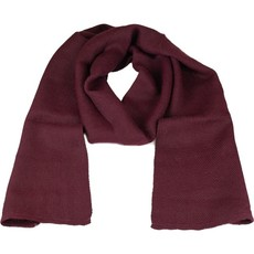 Andes Gifts Solido Alpaca Scarf: Wine