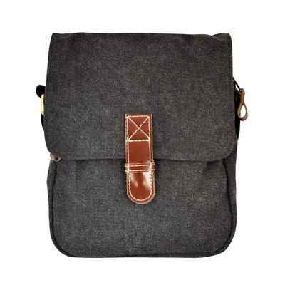Unique Batik Pete's Travel Bag: Charcoal