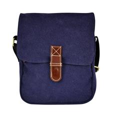 Unique Batik Pete's Travel Bag: Blue