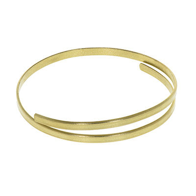 World Finds Ruthie Brass Bangle