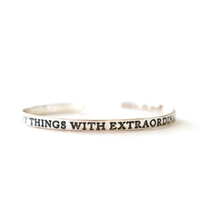 Fair Anita Extraordinary Love Cuff Silver