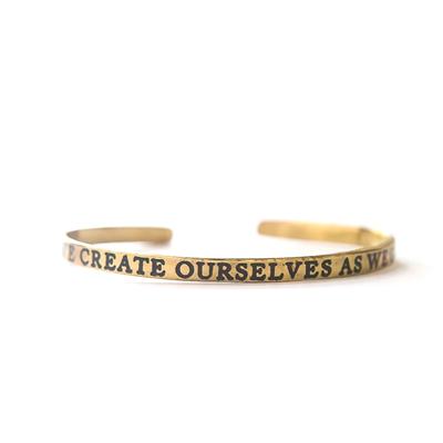 Fair Anita Create Yourself Cuff Brass